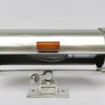 W25 - Wandleuchte Aluminium poliert, Art Deco