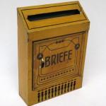 BB16 - Briefkasten Jugendstil, Metall