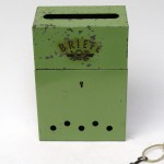 BB18 - Briefkasten Art Deco, Metall