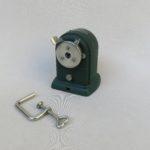 BS47 - Bleistiftanspitzer A.W. Faber Castell No. 52/20, 50er Jahre, Schrumpflack grün