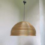 D190 - Deckenleuchte Saturno, Staff, Kazuo Motozawa, 70er Jahre, vergoldet