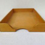 BS29 - Ablagekasten für DIN A4, 1fach, Holz, 50er Jahre