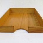 BS31 - Ablagekasten für DIN A4, 1fach, Holz, 50er Jahre
