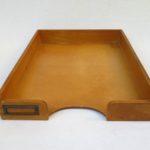 BS30 - Ablagekasten für DIN A4, 1fach, Holz, 30er Jahre