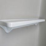 BZ36 - Badezimmerablage, Porzellan weiße, 50er Jahre